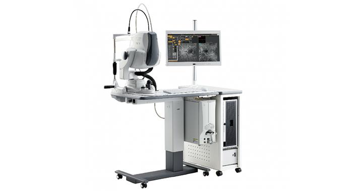 共焦点走査型ダイオードレーザー検眼鏡(広角眼底カメラ・OCT光干渉断層計) Mirante